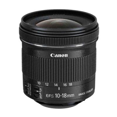 CANON EF-S 10-18 F/4.5-5.6 IS STM GENİŞ AÇI LENS