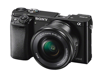 SONY A6000+E PZ OSS 16-50MM BLACK LENS KIT
