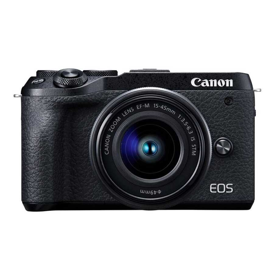 CANON EOS M6 MARK II M15-45 S + EVF BLACK