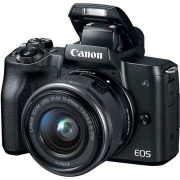 CANON EOS M50 MARK II M15-45 IS STM BLACK