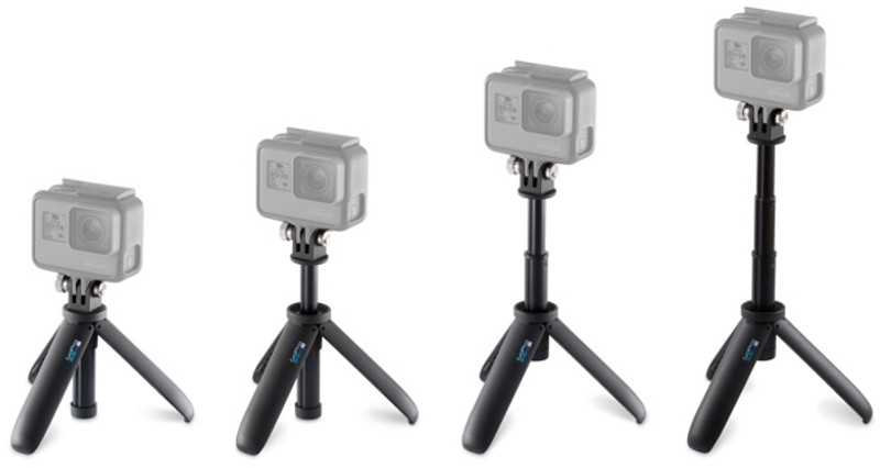 GOPRO SHORTY MINI UZATMA KOLU+TRIPOD