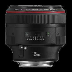 CANON EF 85MM F/1.2 L II USM LENS - Thumbnail
