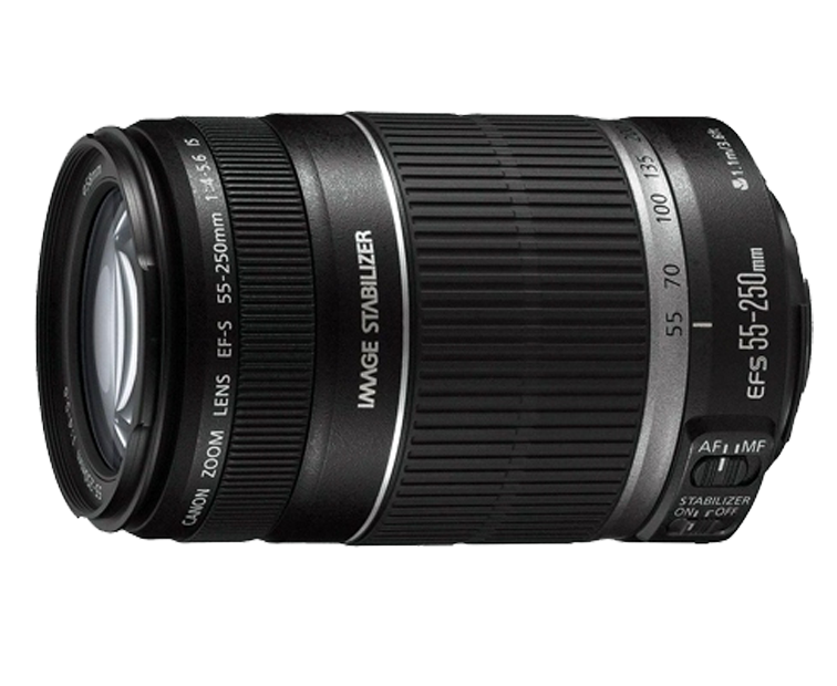 CANON EF-S 55-250 MM F4-5.6 IS STM